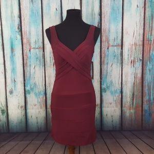 NWT Emerald Sundae Banded Bodycon Dress